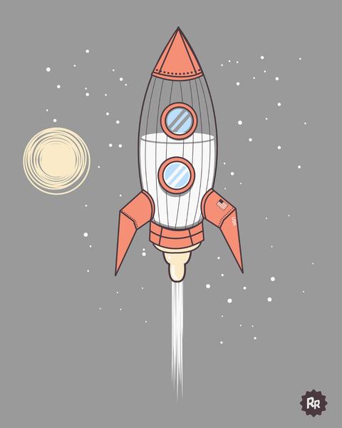 Bottle Rocket by Ryder Doty
