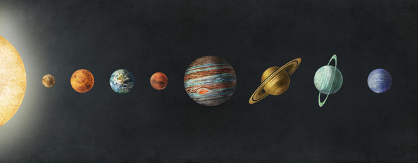 Solar System by Terry Fan