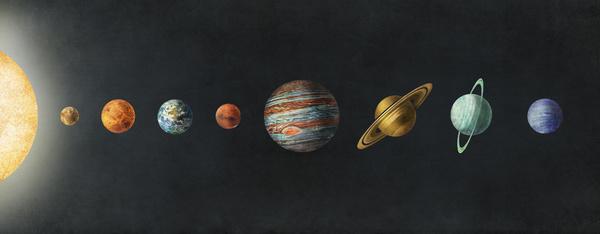 Solar System by Terry Fan