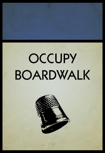 occupy boardwalk. by Dann Matthews