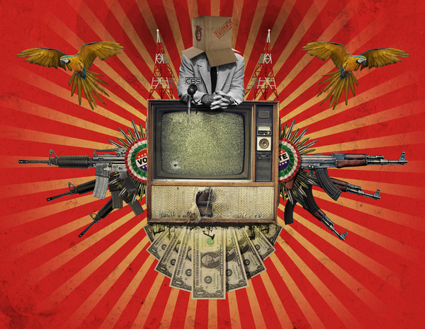 The Revolution Will Not Be Televised! by Rob Snow