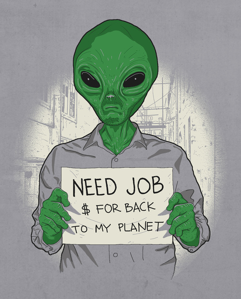 Jobless On Earth by Samalope