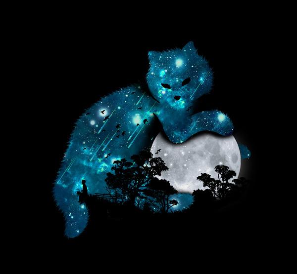 I can haz the moon by Budi Satria Kwan