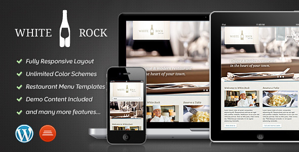 00 whiterock preview   large preview1 40 Retina Ready Premium Wordpress Themes