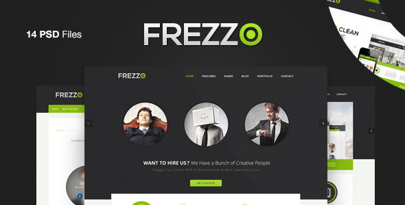 00 imagepreview   large preview1 25 Premium Corporate PSD Templates