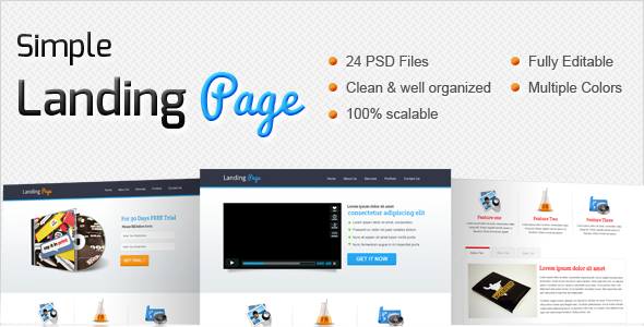 00 preview   large preview1 25 Premium Corporate PSD Templates