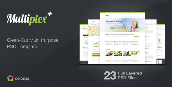 00 preview   large preview3 25 Premium Corporate PSD Templates