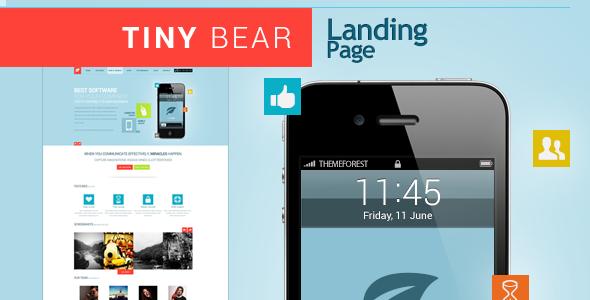 Tinybear Landingpage