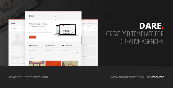 01 590x300   large preview1 25 Premium Corporate PSD Templates