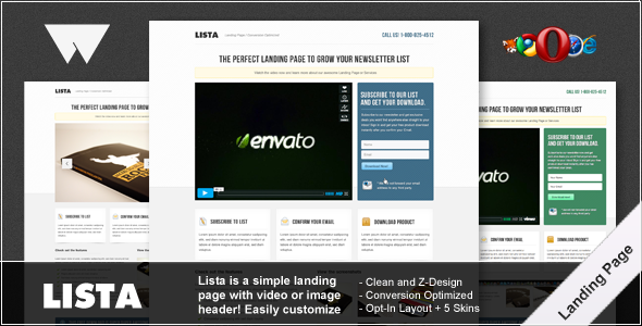 01 a   large preview1 30 Premium Landing Pages to Boost Your Conversion