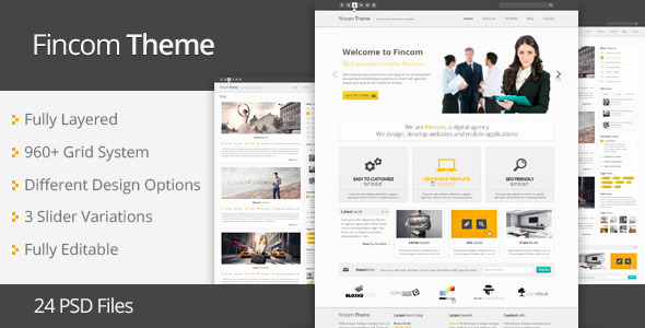 01 preview   large preview1 25 Premium Corporate PSD Templates