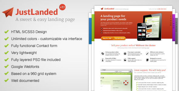 01 preview   large preview3 30 Premium Landing Pages to Boost Your Conversion