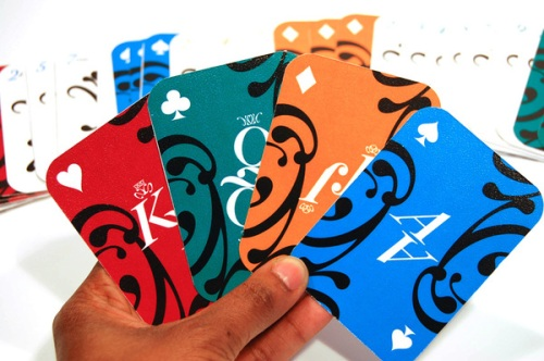 La Boca | Typographic Playing Cards