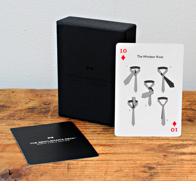 Gentleman's Deck Playing Cards