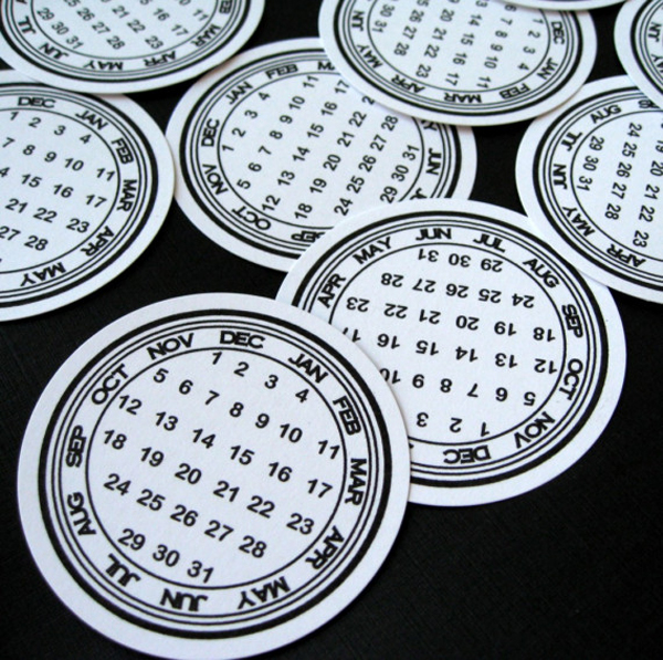 Circle The Date Stickers