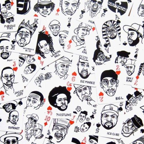 Hip Hop Playing Cards by Mynority Classics x Sayori Wada
