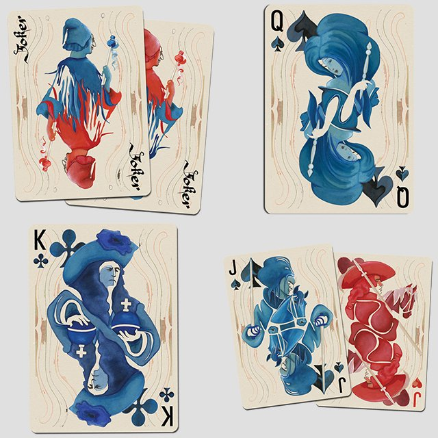Bohemia Playing Cards by Uusi