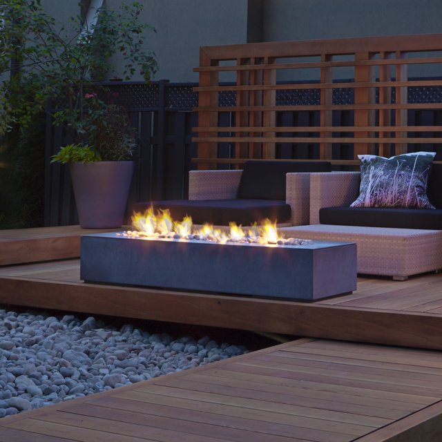Robata Linear Outdoor Fire