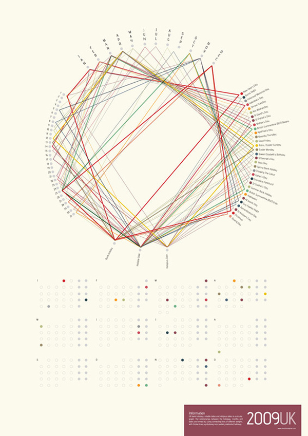 22 25 of the Most Innovative Calendar Designs