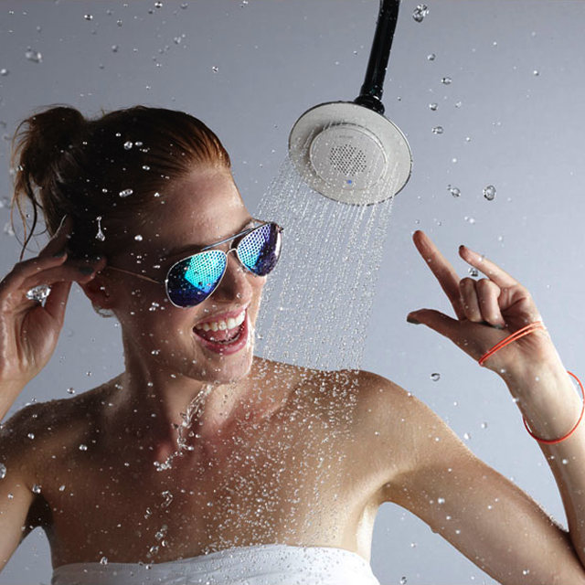 Wireless Speaker Shower Head by Kohler