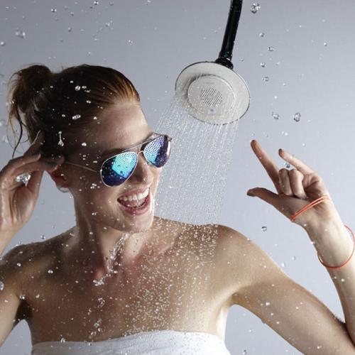 Wireless Speaker Shower Head by Kohler