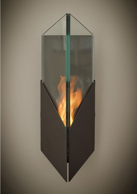Pure Wall-Mounted Bio Ethanol Torch