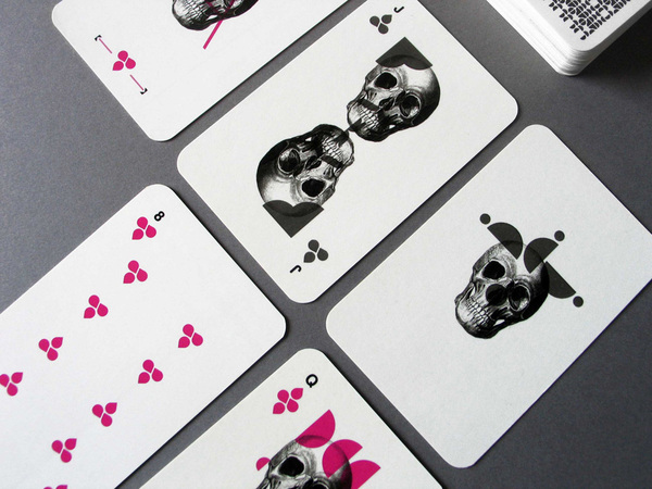 Barebones Playing Cards by Matt Castiglioni