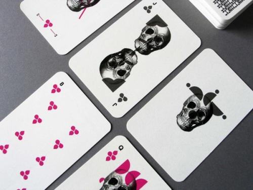 Barebones Playing Cards by Matt Castiglioni
