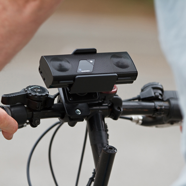 foxL Speaker Bike Mount by Soundmatters
