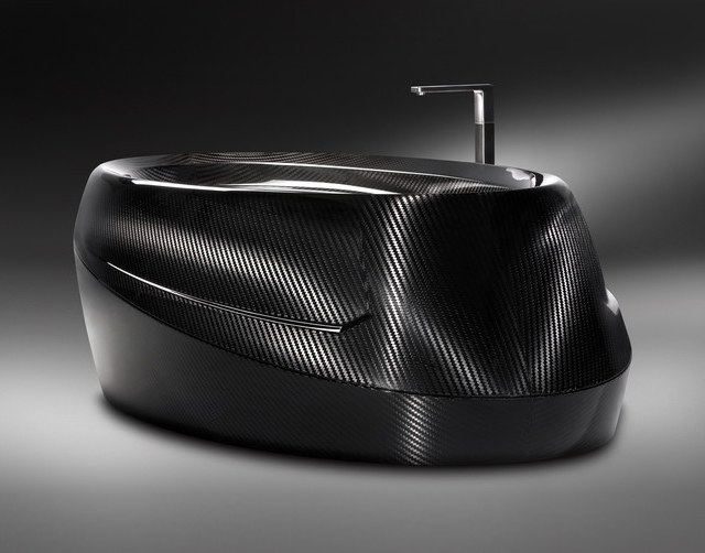 Carbon Fiber Bathtub by Corcel