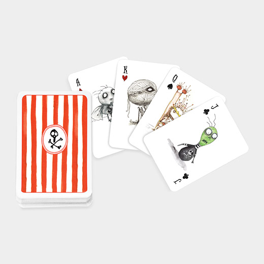 Tim Burtons Playing Cards