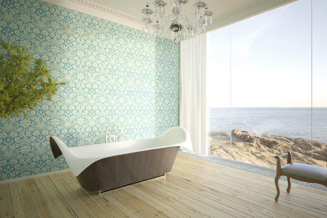 Ocean Wing Bathtub by Bagno Sasso