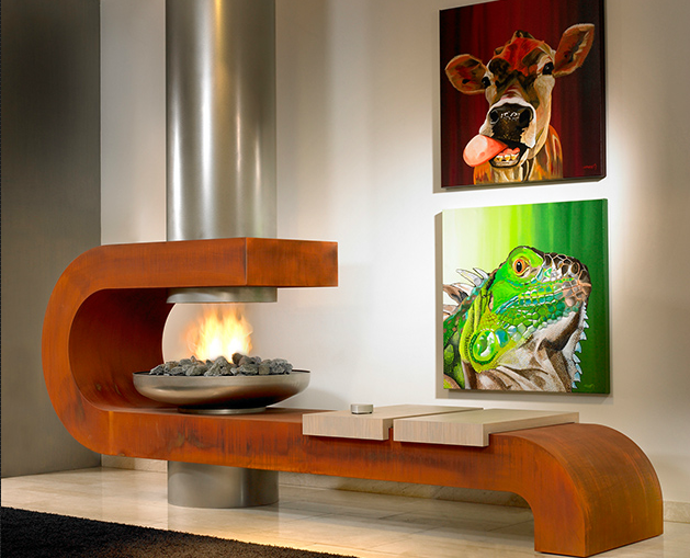 Modus 984 Fireplace