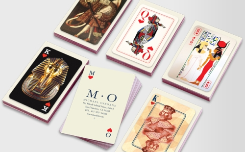 Card of Hearts Business Cards