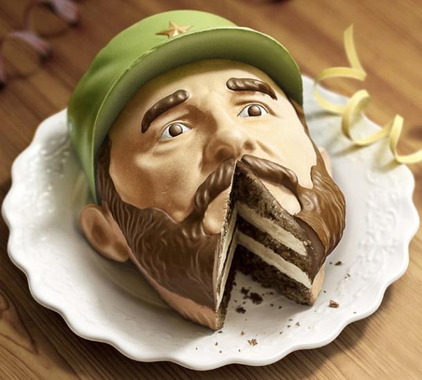Dictator Cake by Euro RSCG