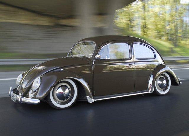 1954 VW Oval Beetle