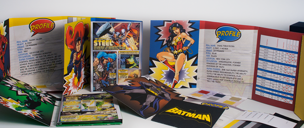 Justice League Paper Swatch Books