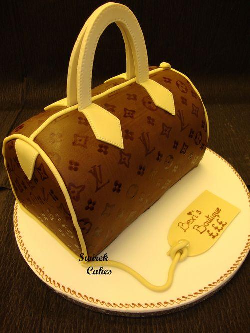 Handbag Cake by Swirek