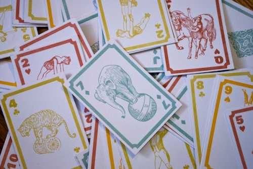 Cirque Playing Cards