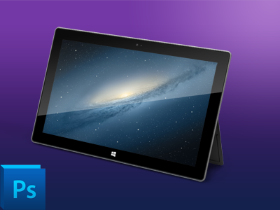Microsoft Surface Tablet PSD