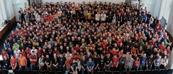 Desktop Summit group photo