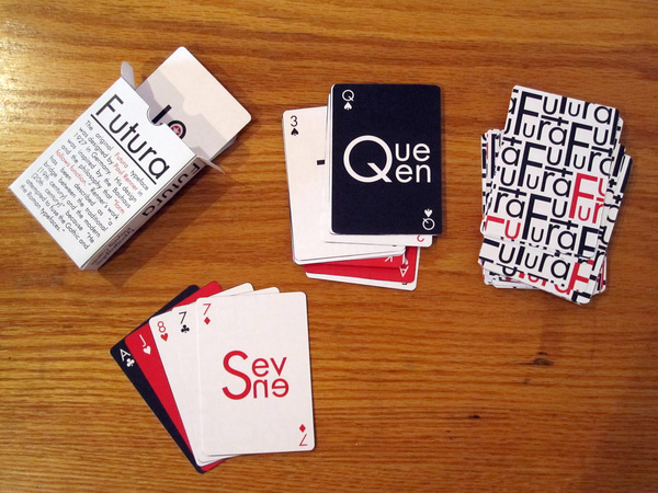 Futura Playing Cards