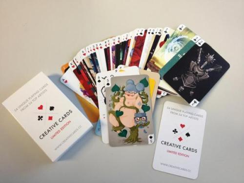 5 of spades - Creative Cards
