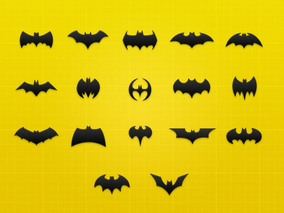 Batman Icon Collection by Benjamin Roesner