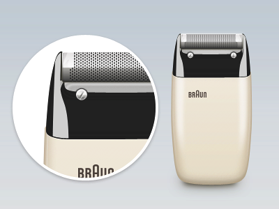 Braun Electric Shaver S60