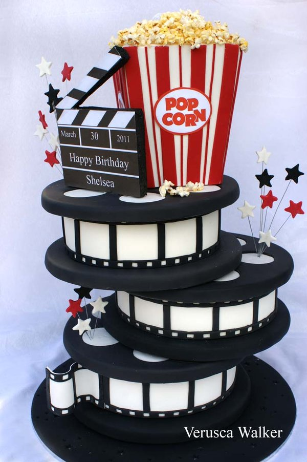 cinema cake by verusca d3crptk1 Top 30 Realistic Cake Designs