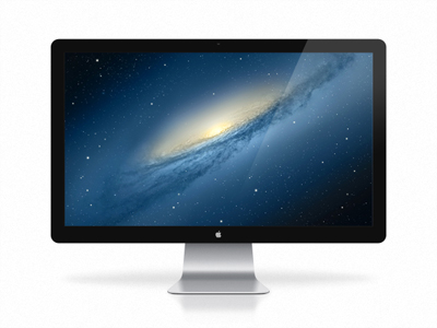 "27"" Apple Cinema Display PSD"