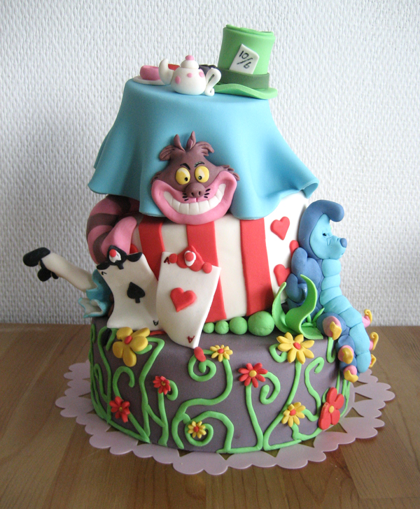 down the rabbits hole by naera1 Top 30 Realistic Cake Designs