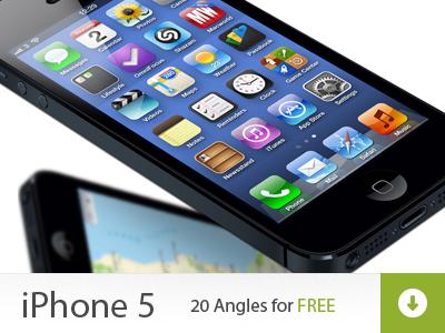 iPhone 5 Mock ups