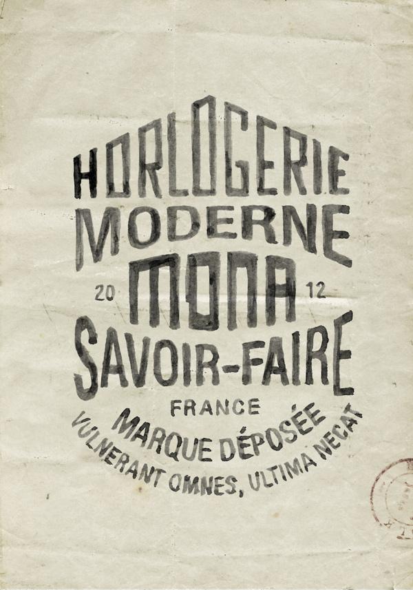 Branding & hand-lettering for MONA